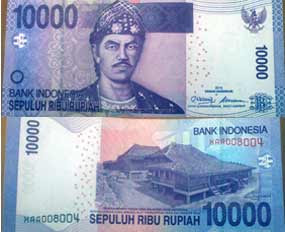 Uang 10000 Baru