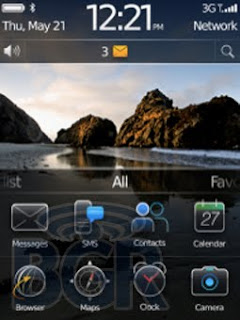 Views BlackBerry OS 6.0