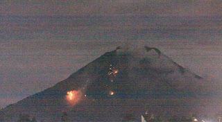 Video Eksklusif Gunung Sinabung Meletus