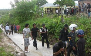 Foto-Foto Bentrokan Kota Tarakan