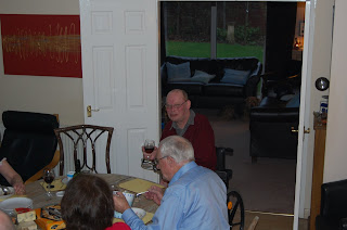 me, Dad and red wine!