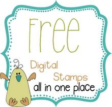 Free Digi Stamps!