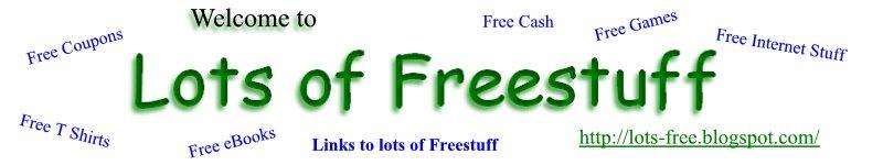 Lots of Freestuff