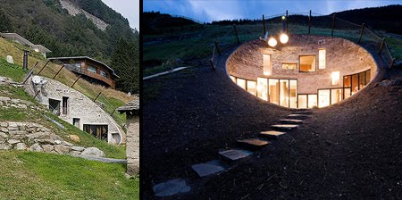 Awesome Underground House In Switzerland Unusual Things