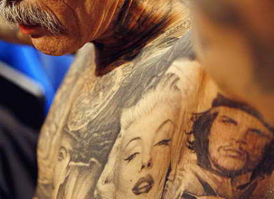 Weird Cool Things: Weird, Crazy and Bizarre Tattoos Drawn On Human Bodies