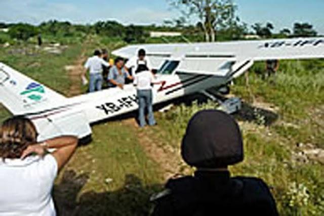 Ya hay un detenido relacionado con aterrizaje: PGJ Puebla