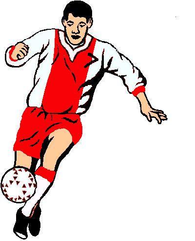 futbolista el futbol es un deporte de equipo jugando dos conjuntos de ...