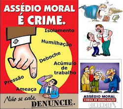 VOC SABE O QUE  ASSDIO MORAL? DENUNCIE J!