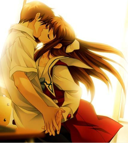 anime love kiss. anime love kiss drawings.