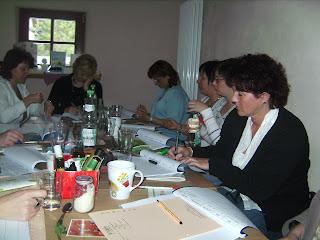 Ausbildungsbeginn für 8 zukünftige Arompflegerinnen