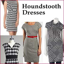 Houndstooth Dresses