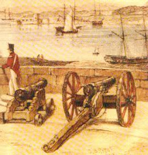 Early fort Sydney.