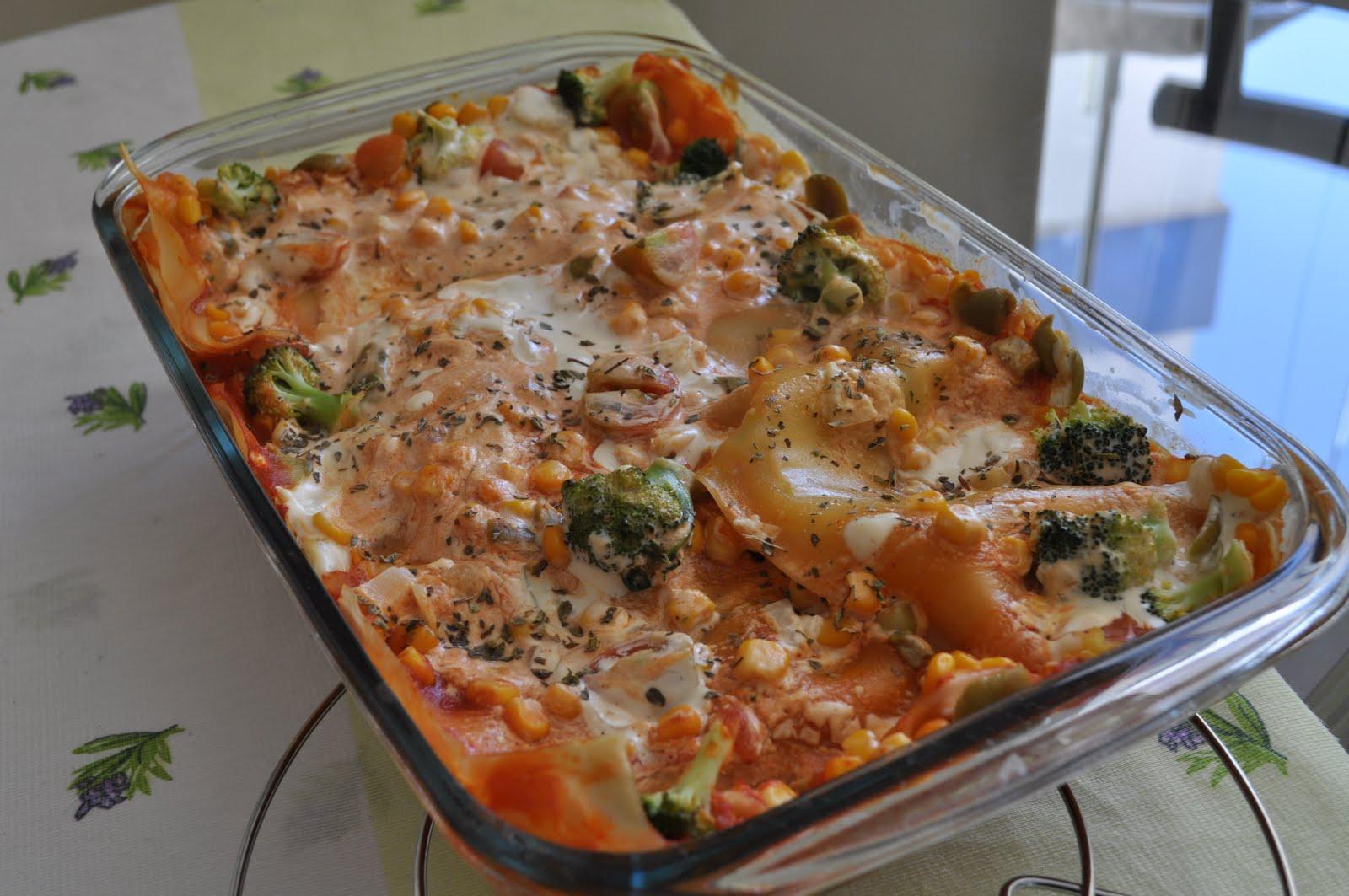 Cozinha Vegana: Lasanha Vegan