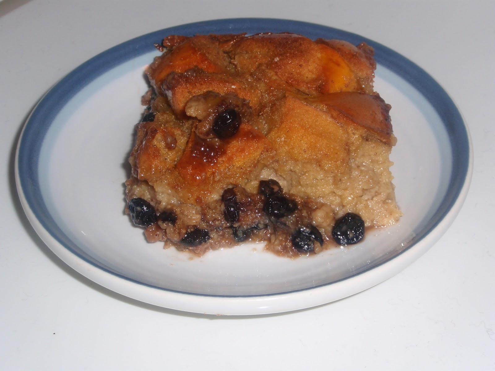 Culinary Orgasm: Blueberry White Chocolate Bread Pudding