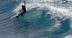 John Surfing at The Pass, Byron Bay, Australia