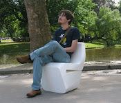 * cadeira de isopor