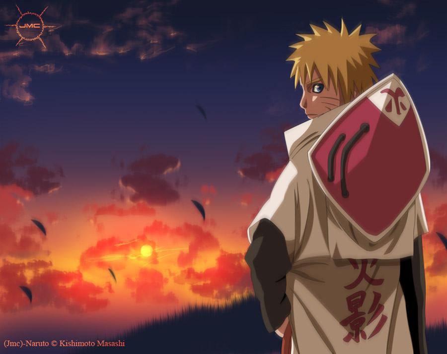 T. Chunnin do Fuuin Naruto_Hokage_by_JManuelC