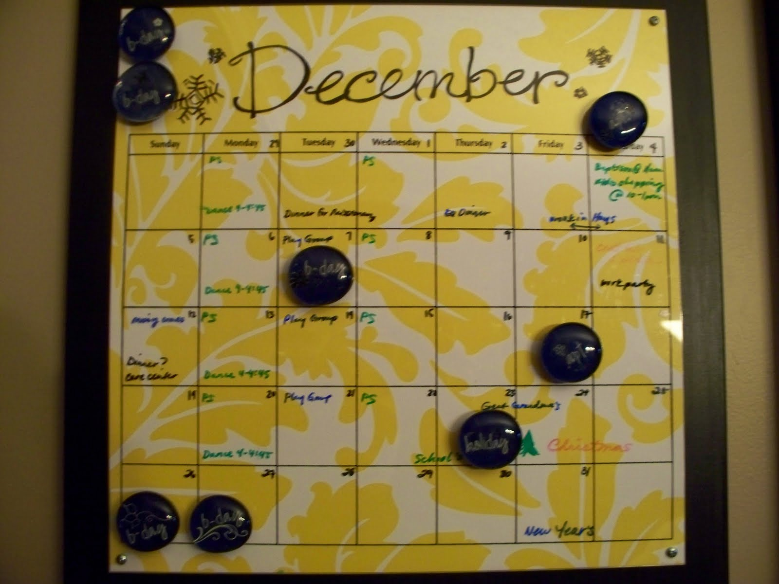 November Calendar Diy : Creative mommas diy calendar