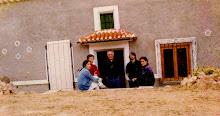 Arturo Valenzuela en su casa de La Sagra