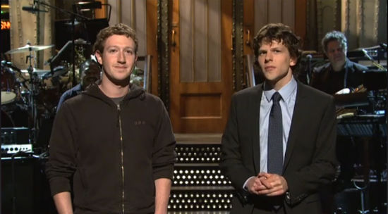 the real Mark Zuckerberg. Eisenberg was surprised as it seemed a bit