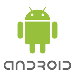 Android Logo White