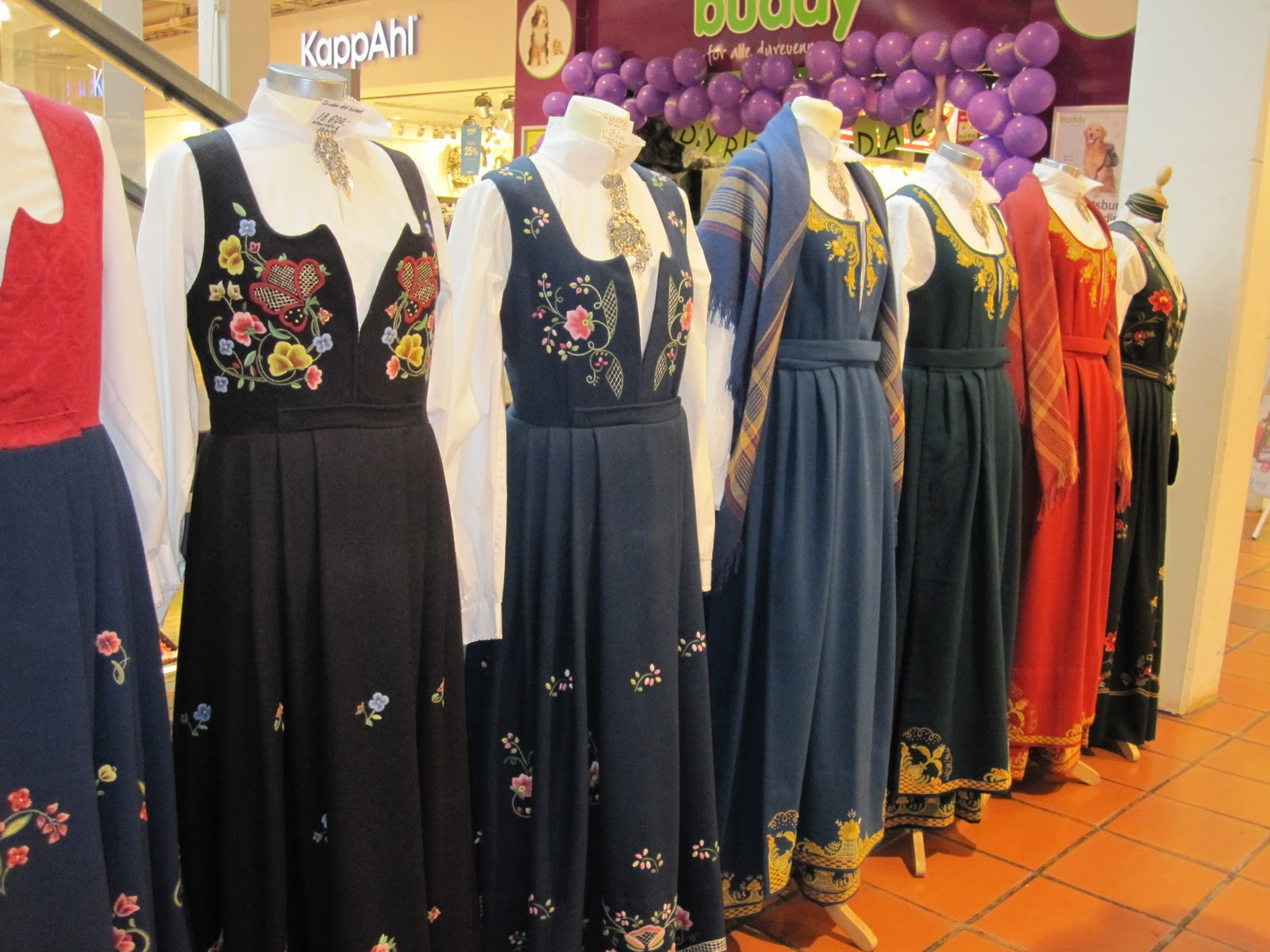 seven innocents abroad norwegian traditional dresses