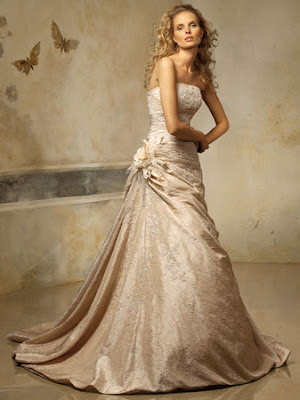New Strapless Alvina Valenta Wedding Gowns Collection