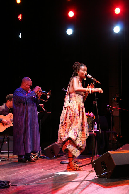 Somi with Hugh Masekela / 651arts Live&Outspoken