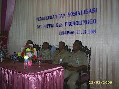 Pengkukukuhan persatuan kursus sekabupaten Probolinggo