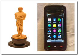 Oscars and Nokia 5800