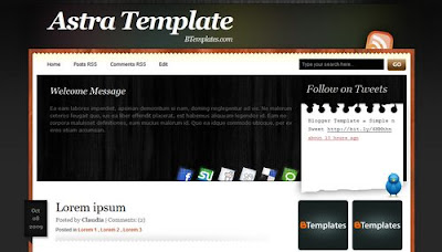 best blogger templates-Astra