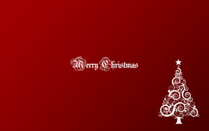 Merry Christmas 1280x800 by ~kegonomics
