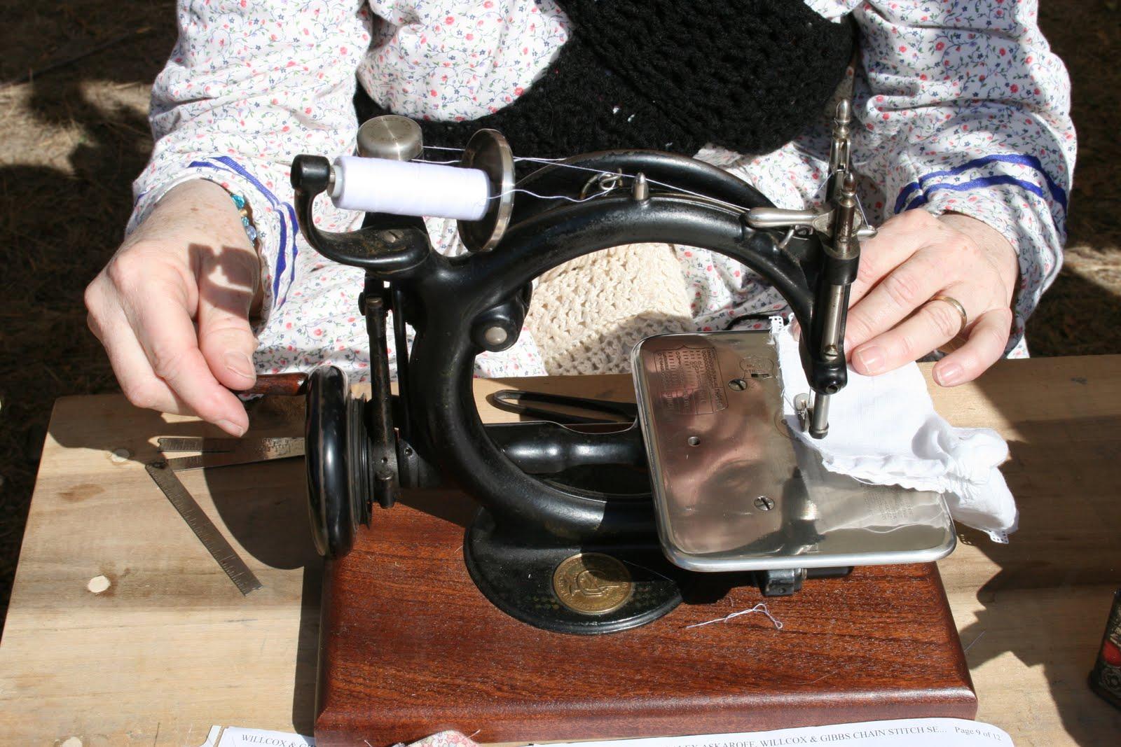 elgin sewing machine history