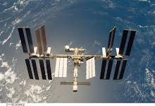 Saiba onde está a ISS neste instante
