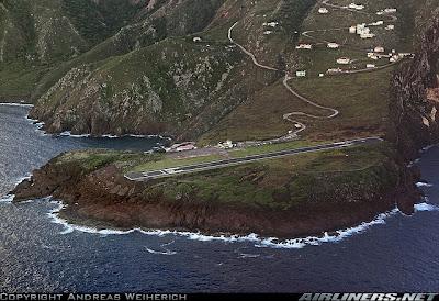 Saba - Aeroporto entre os mais perigosos 1685777