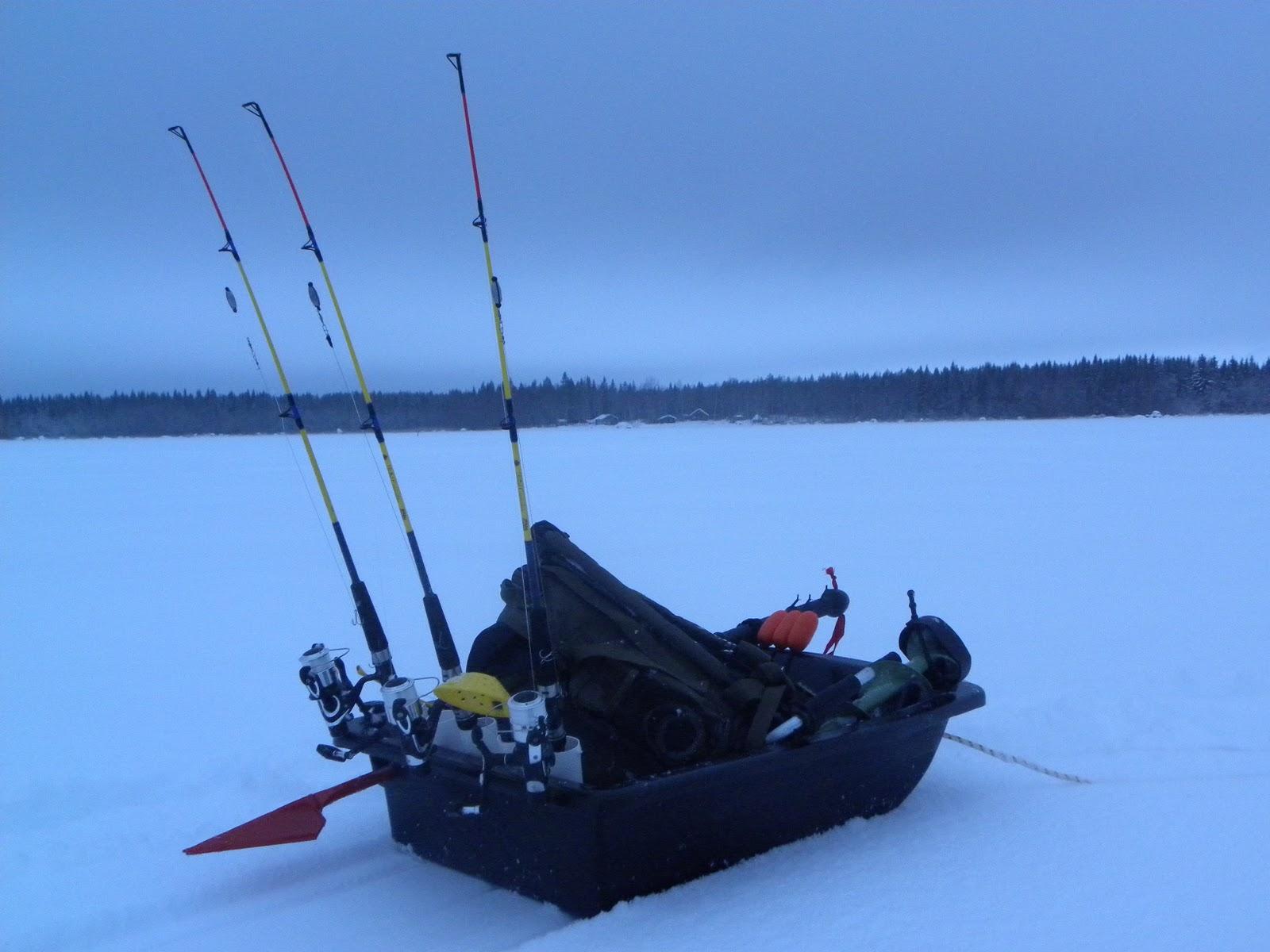 Jakten p det gr na guldet projekt ismete for Ttr fishing guide