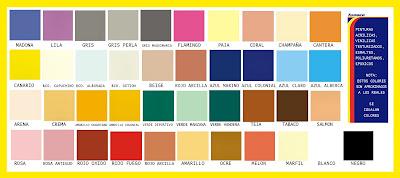 Tlapaleria el aguila gama colores for Gama colores pintura pared