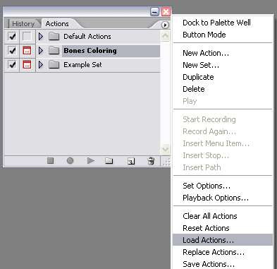 how to open atn document in photoshop