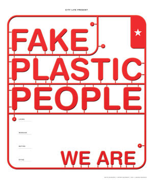 fake plastic person