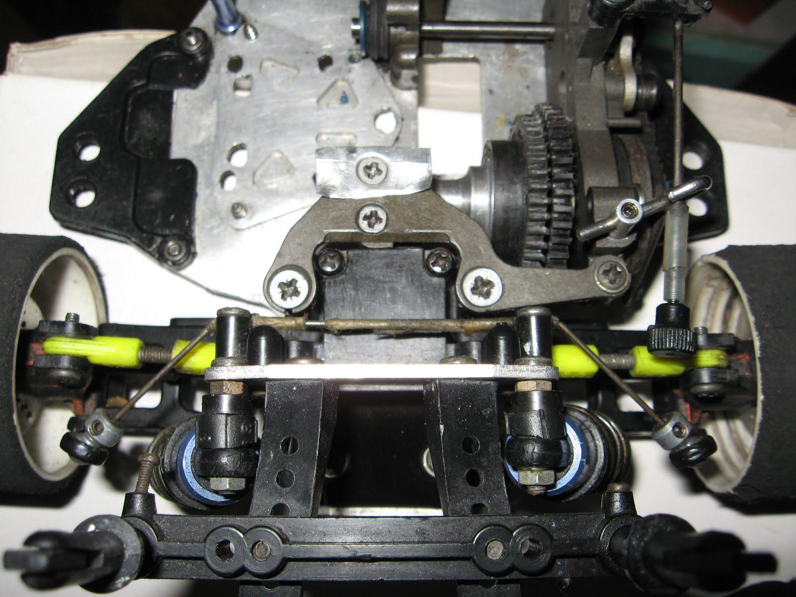 Rear Top Suspension Arm View