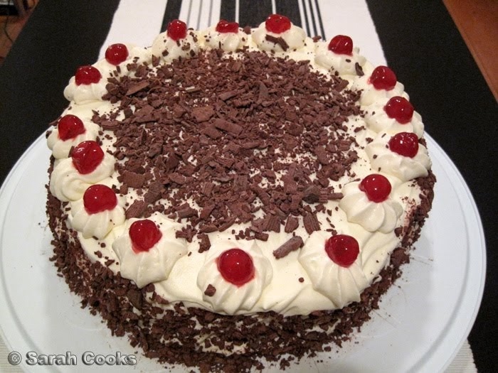 Black Forest Cake Red Ribbon Recipe