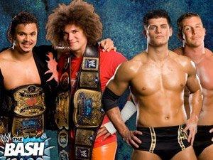 Carlitos y Primo Vs  Ted DiBiase y Cody Rhodes