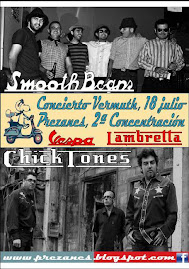 Smooth beans y Chick Tones en concierto