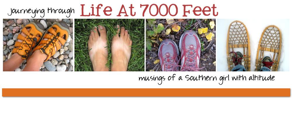 Life at 7000 feet