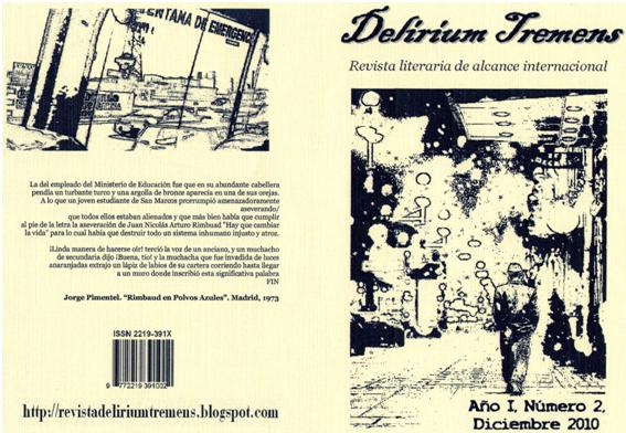 Revista Literaria Delirium Tremens número 2 - Edición virtual