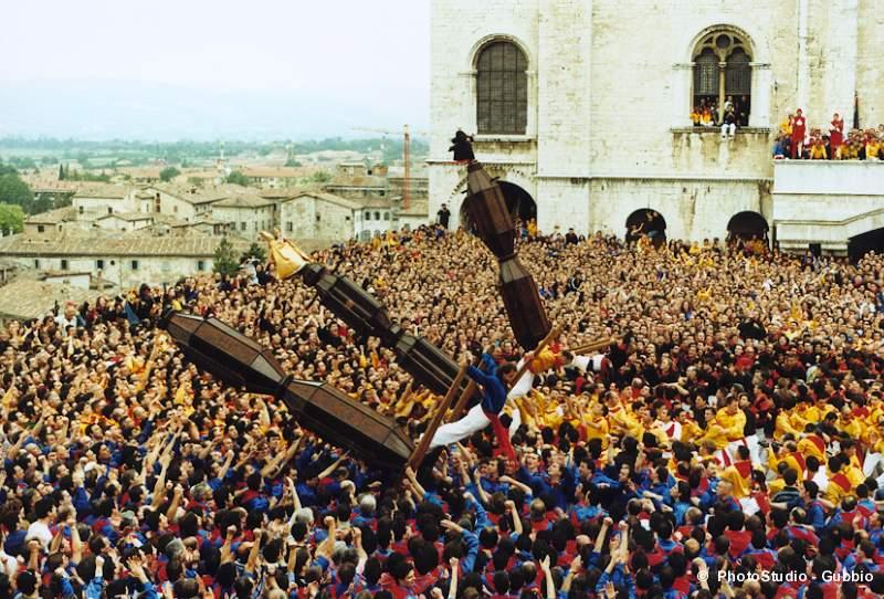 Gubbio. La corsa dei Ceri di Gubbio. La 95