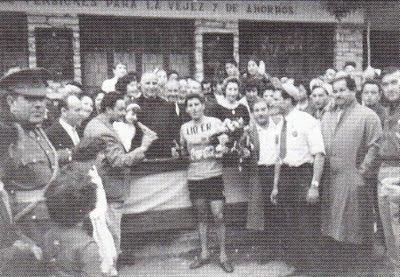 SAN+MNIGUEL+1968 - ESPAÑOLES DE AMARILLO EN LOS 106 AÑOS DEL TOUR DE FRANCIA