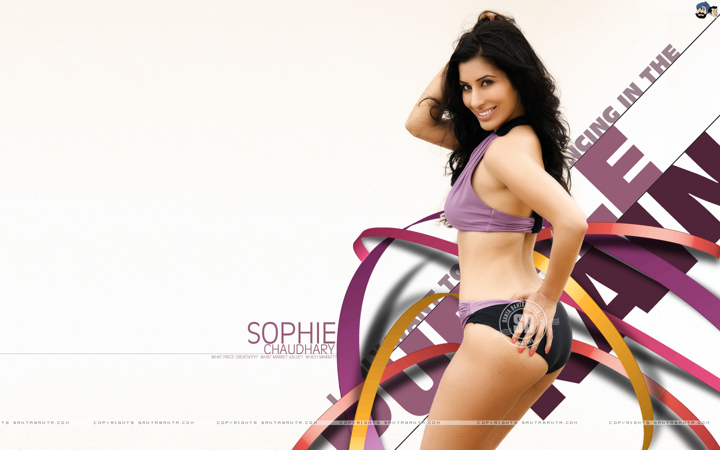 bollywood: sophie chaudhary hot wallpapers