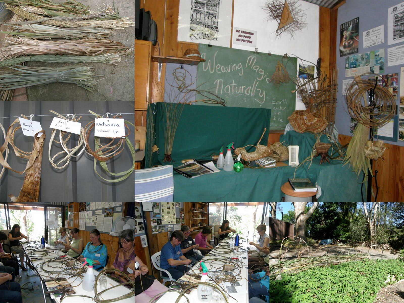 Basket Weaving Adelaide : Weaving magic naturally work