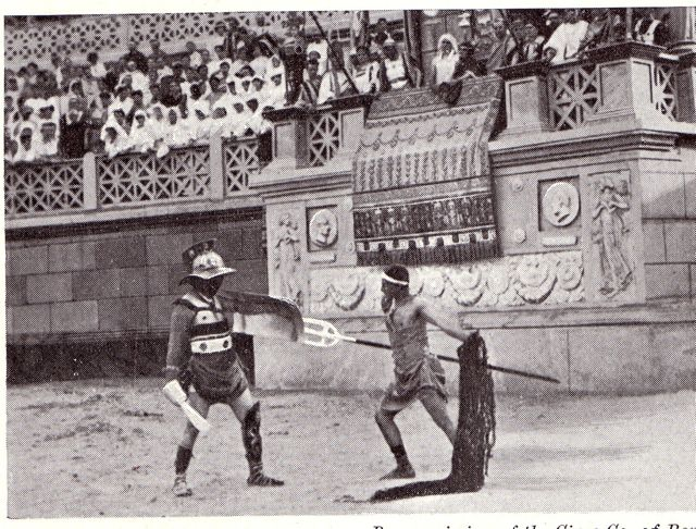 history of gladiatorial games The coliseum of ancient rome may have been the single most barbaric sporting venue in human history  7 astonishing roman coliseum fights by  of games held by.